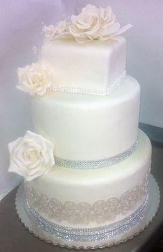 Wedding Cake by Lixoudis Bakery Santorini