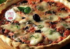 Tarte à la tomate et aux olives   Croquons La Vie - Nestlé