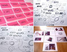 EVO fitness by Mission Design, via Behance Web Design, Print Design, Evo, Drawing Sketches, Identity, Behance, Branding, Fitness, Inspiration