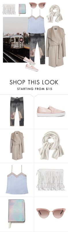 """""""Untitled #45"""" by macwalborn ❤ liked on Polyvore featuring Isabel Marant, Joie, Joseph, Wrap, Alessandra Mackenzie, Kate Spade and Gucci"""