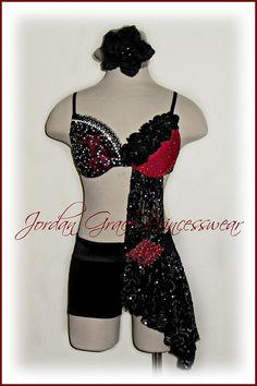 www.jordangraceprincesswear.com - custom contemporary solo costume