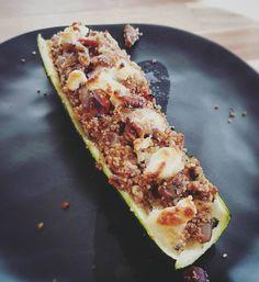 Opgevulde courgette  #foodporn #tisnogveggieook