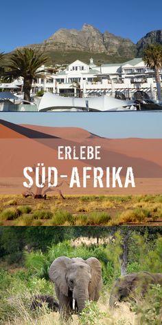 Das südliche Afrika mit Namibia, Botswana und Südafrika lädt euch zu großen Abenteuern ein. #Südafrika #Namibia #Botswana