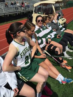 Unit 10 External Locus of Control: This girl looks upset on the bench during the lacrosse game because she thinks that Nancy the coach hates her. She thinks Nancy purposely doesn't play her because of this and has nothing to do with her lacrosse ability.