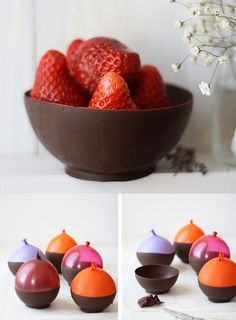 Chocolate bowls!
