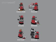There Are Lots Of Things Daleks Could Do Instead Of Exterminating [T-Shirt]