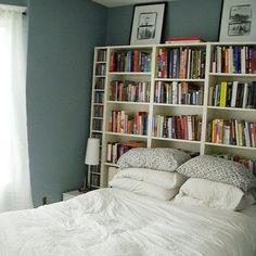 1000 id es sur t te de lit biblioth que sur pinterest lit biblioth que mur moderne et. Black Bedroom Furniture Sets. Home Design Ideas