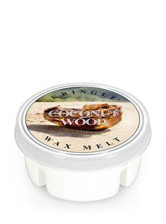 Coconut Wood - Kringle Candle Wax Potpourri Melt - ein ganz besonderer Kokosnuss-Duft, nicht zu süss, sondern angenehm warm und tropisch elegant. Ein weicher und wohlig warmer Sommer-Duft.