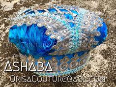 Fila Yemoja Ashaba For inquires, please send an email to OrisaCouture@aol.com #fila #yemoja #yemaya #ashaba #achaba #orisa #orisha #lukumi #santeria #yoruba #diaspora #orisacouture
