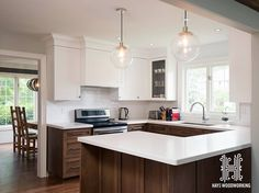 Kitchen cabinetry custom kitchens and upper cabinets on pinterest