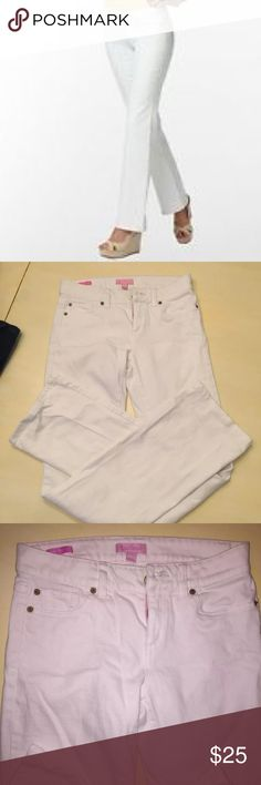 26267ffb43 Sale🎀Lilly Pulitzer white jeans Size 0(fit a 26) excellent used condition