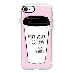 Coffee, Girl Bosses Best Friend - iPhone 7 Case, iPhone 7 Plus Case,... ($40) ❤ liked on Polyvore featuring accessories, tech accessories, iphone case, iphone cases and apple iphone case