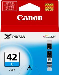 Canon - CLI-42 Ink Cartridge - Cyan (Blue)