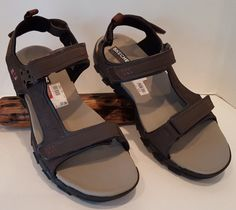Sketchers Mens Urban Trail Trevor Brown Sandals Shoe Size 12 13 Straps New  #Sketchers #Strap
