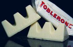 White Toblerone