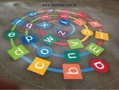 22 Ideias de jogos para desenhar no pátio - Educação Infantil - Aluno On