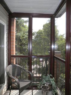 Balcony Enclosures - Glastar Sunrooms by SunShade