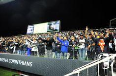 Contra o Atlético-MG, Corinthians bate recorde negativo de público na arena #globoesporte