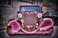 Hot-rod with some Hot Paint