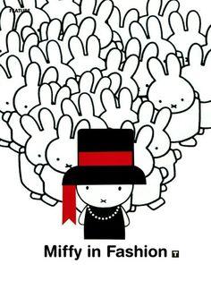 Nijntje [Miffy] by Dick Bruna Kawaii Illustration, Graphic Design Illustration, Book Cover Design, Book Design, Quote Prints, Poster Prints, Miffy, Honey Bunny, Funny Bunnies