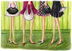 bags & skirts, bella pilar