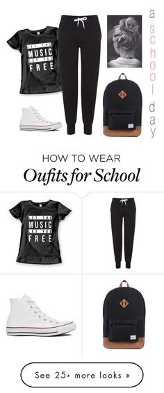 a school day by sarah-tav on Polyvore featuring Topshop and Converse Good information on supplements