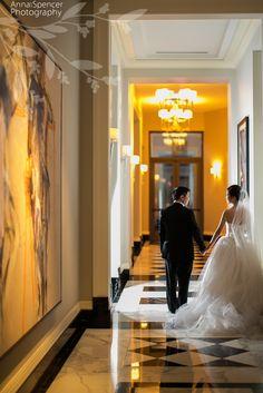 Anna and Spencer Photography. Atlanta Wedding Reception Venue: Mandarin Oriental in Buckhead .