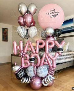 Jojo Siwa Alles Gute Zum Geburtstag Luftballon Bukett Set Party Dekoration