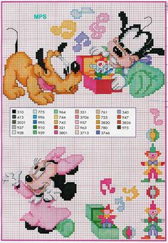 Minnie Pluto e Pateta bbs