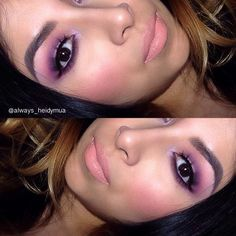 Purple+eyeshadow+