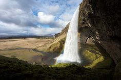 Waterfall by Johan Nieuwerth