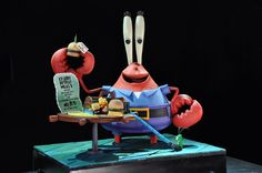 Food Network Extreme Cakes | Mr. Krabs