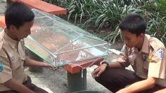 2 Pelajar Lamongan Ubah Air Laut Jadi Air Tawar dengan Kaca dan Matahari