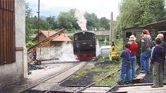 STEYR, AUSTRIA - JULY 13: Steam locomotive in Railway station on July 13, 2006 in Steyr, Austria.