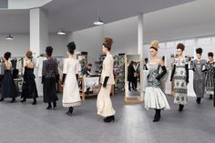 Behind the scenes at Chanel couture autumn/winter '16/'17 - Vogue Living