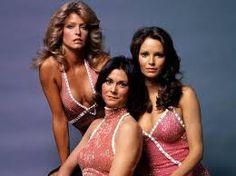 """Farrah Fawcett, Kate Jackson & Jaclyn Smith - """"Charlie's Angels"""" (TV 1976)…"""