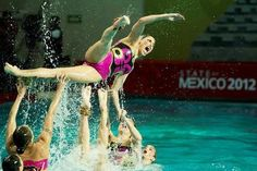 Mexico at FINA World Trophy.