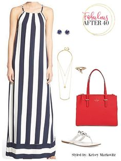 New Nautical - How to Climb On Board This Spring Trend | Fabulous After 40