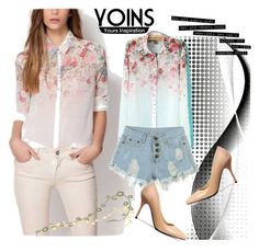 """""""Yoins"""" by woman-1979 ❤ liked on Polyvore featuring mode et yoins"""