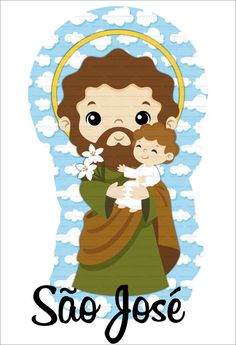 Ccd Activities, Mama Mary, Communion Invitations, Blessed Mother Mary, Catholic Saints, St Joseph, Silhouette Projects, Art For Kids, Santa