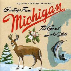 Sufjan Stevens- Michigan Vinyl Record