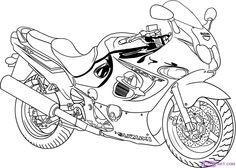 170c254d3b5e9c85e56ea345c702419f how to draw coloring pages suzuki gsx750f airbrush pinterest suzuki gsx,Hayabusa Undertail Wiring Diagram