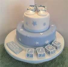 joint girl boy baptism cake ideas - Google Search