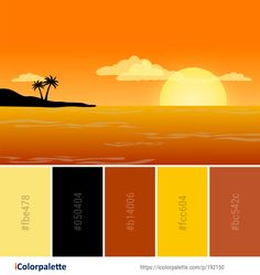 Color Palette Ideas from Sky Yellow Orange Image Color Combinations, Color Schemes, Orange Color Palettes, Construction, Computer Wallpaper, Color Pallets, Color Theory, Creative Art, Color Inspiration