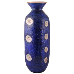 Impressive Guido Gambone Vase | From a unique collection of antique and modern pottery at http://www.1stdibs.com/furniture/dining-entertaining/pottery/