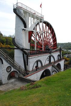 Lady Isabella  The Laxey Wheel Isle of Man