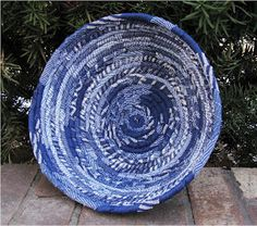 Denim Jean Basket-The site makes them out of new denim, but would work just as well with recycled jeans!