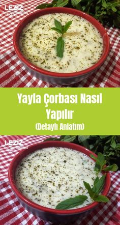 How to Make Yayla Soup (Detailed Description) – My Delicious Food - Suppe Chicken Curry, Turkish Recipes, Ethnic Recipes, Soup Recipes, Dinner Recipes, Homemade Beauty Products, Lunches And Dinners, Food Dishes, Food Art