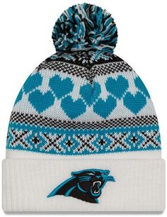 New Era Cap Winter Cutie Carolina Panthers Beanie