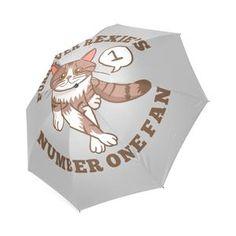 Furrenver Rexie's Number One Fan Foldable Umbrella